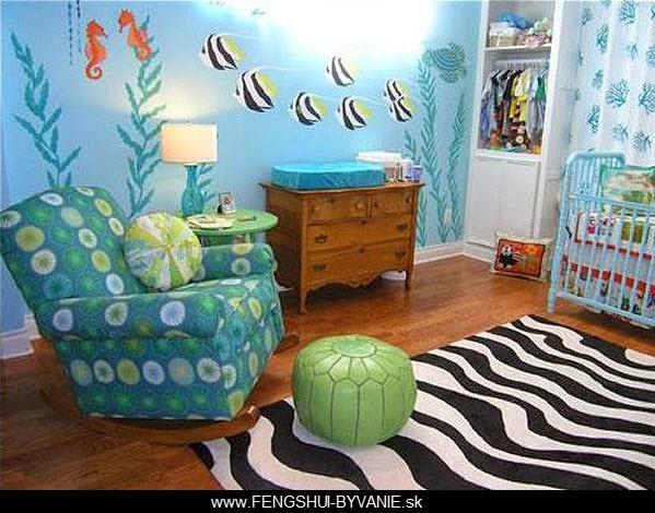 Feng Shui a detská izba