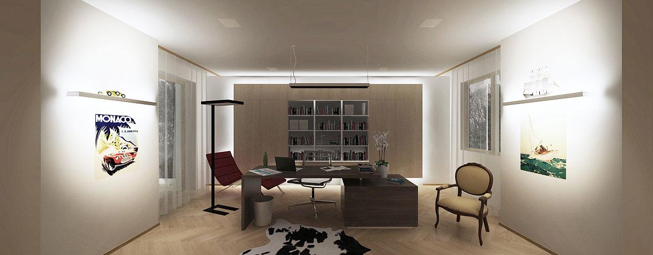 Umiestnenie stola v izbe alebo kancelárii